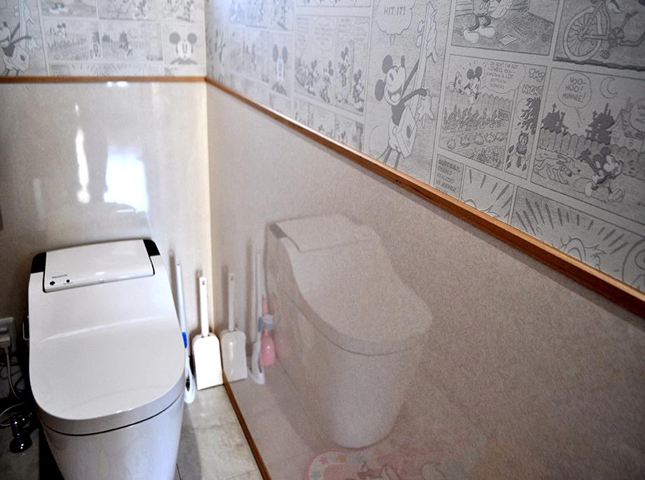 トイレ|ディズニー好きの奥様の夢の家