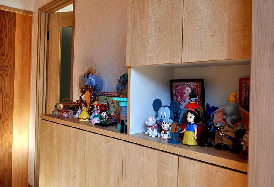 玄関|ディズニー好きの奥様の夢の家
