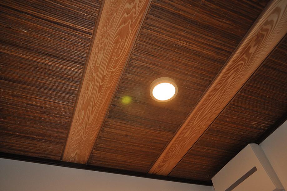 洗面所の天井|黒田工務店の注文住宅