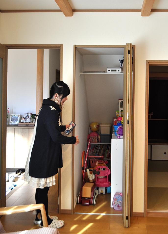 収納スペース|黒田工務店の注文住宅