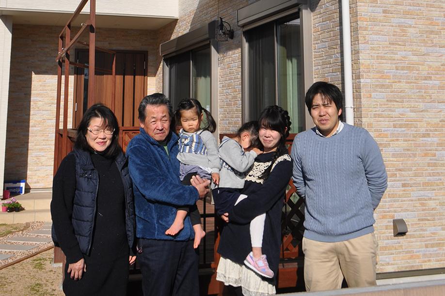 家族写真|黒田工務店の注文住宅