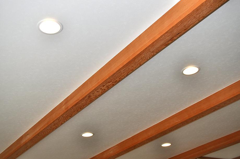 リビングの天井|黒田工務店の注文住宅