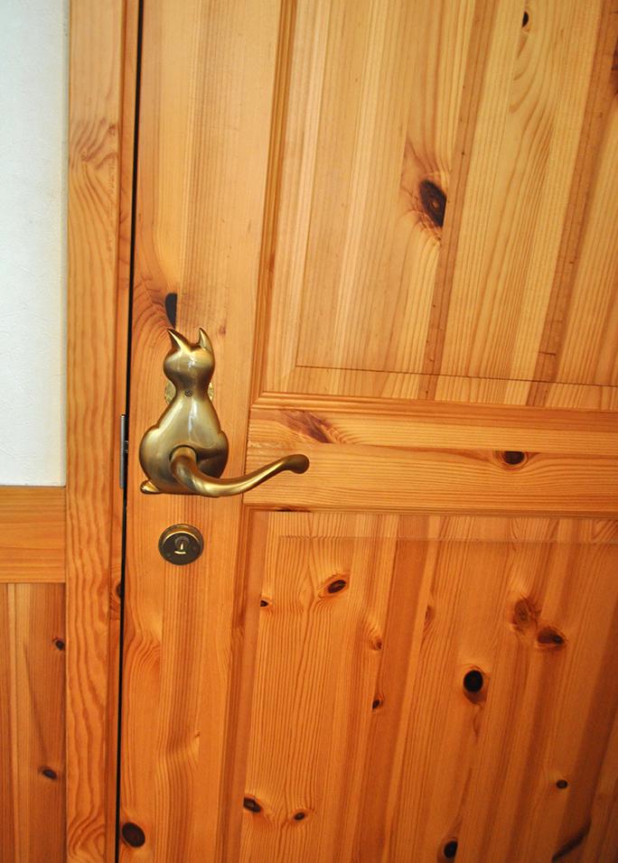トイレのドア|黒田工務店の注文住宅