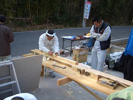 黒田工務店|土台、柱は四寸角を使う事